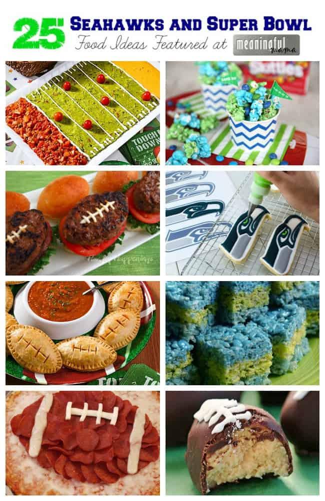 seahawks super bowl food ideas