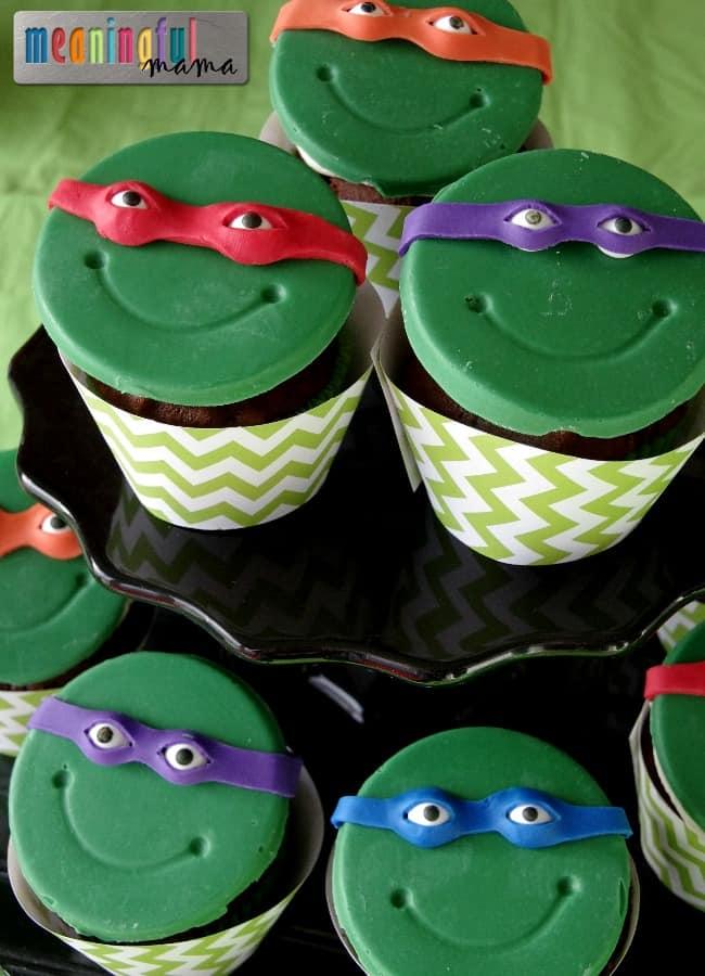 teenage mutant ninja turtle cupcakes cakes