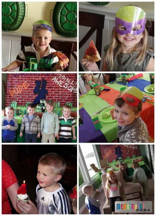 teenage mutant ninja turtle party ideas decorations food