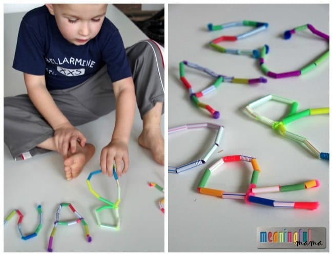 Fun Way to Teach Kids their Letters and Name