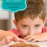 Self Control When Faced with Temptation