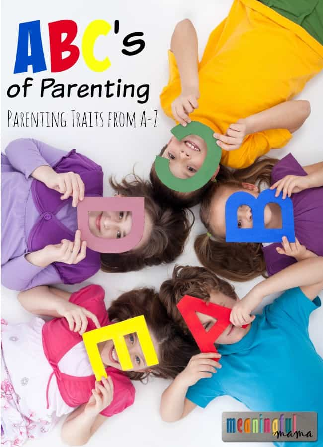 How to be a Good Parent - Parenting from A-Z