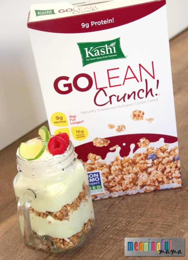 Kashi Go Lean Crunch Key Lime Pie Breakfast Parfait