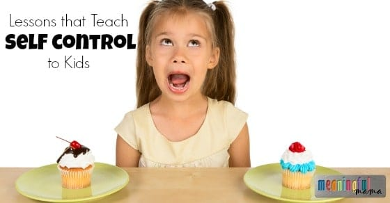 Lessons that Teach Self Control to Kids