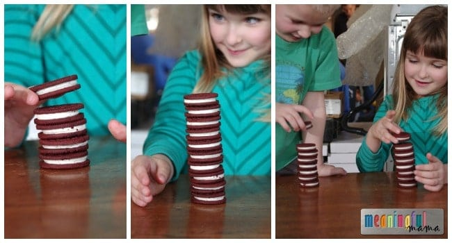 Oreo Cookie Stacking Competition