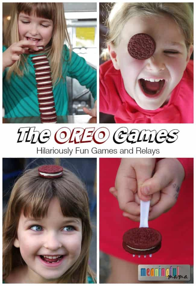 The Oreo Games - Hilariously Fun Games and Relays for Family Activity Time
