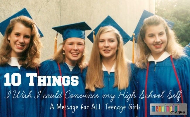 things to tell high school girls