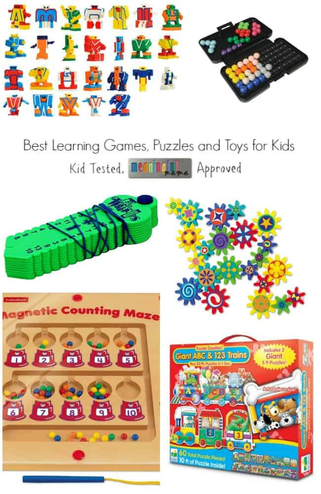 Hottest Toys Learning : Best learning puzzles games and toys