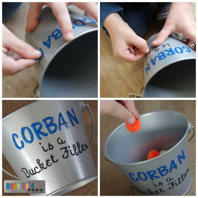 Bucket Filler Activity for Kids - Character Development