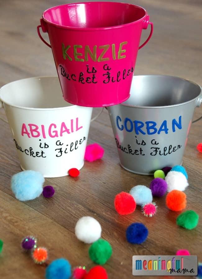 Bucket Filler Activity for Kids