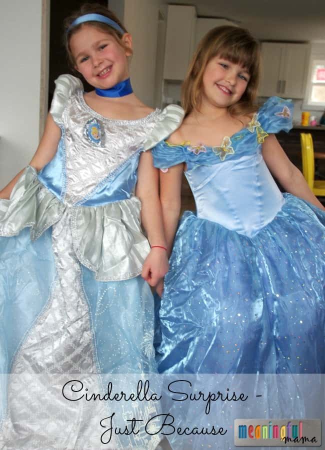Cinderella Surprise Party and 2015 Movie Review