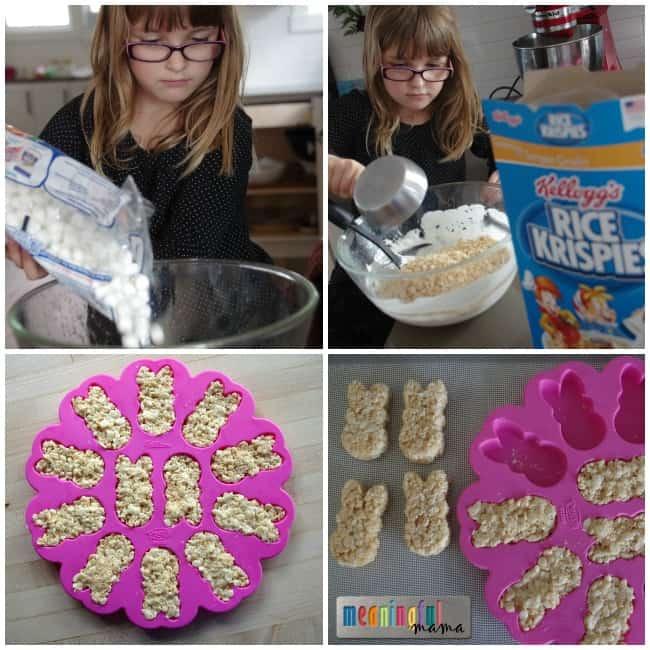 DIY Peeps - Easter Rice Krispies Treats