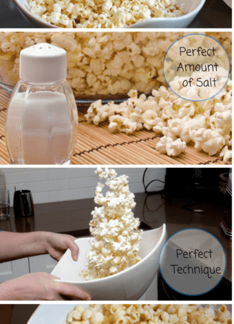 Perfect Popcorn to Butter Ratio