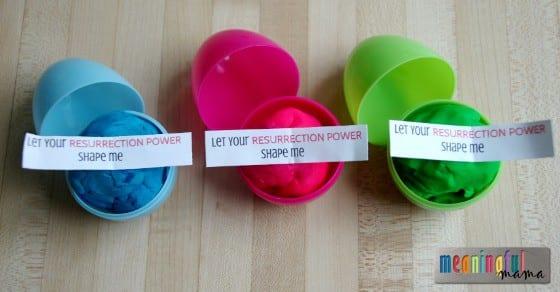 How To Make Play Doh Plastic Easter Egg Filler