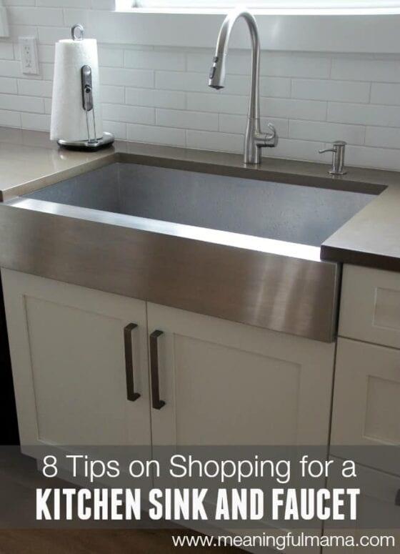 Kohler Farmhouse Kitchen Sink in Kitchen