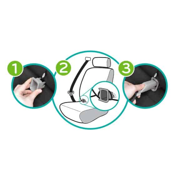 3 in 1 Evenflo Carseat