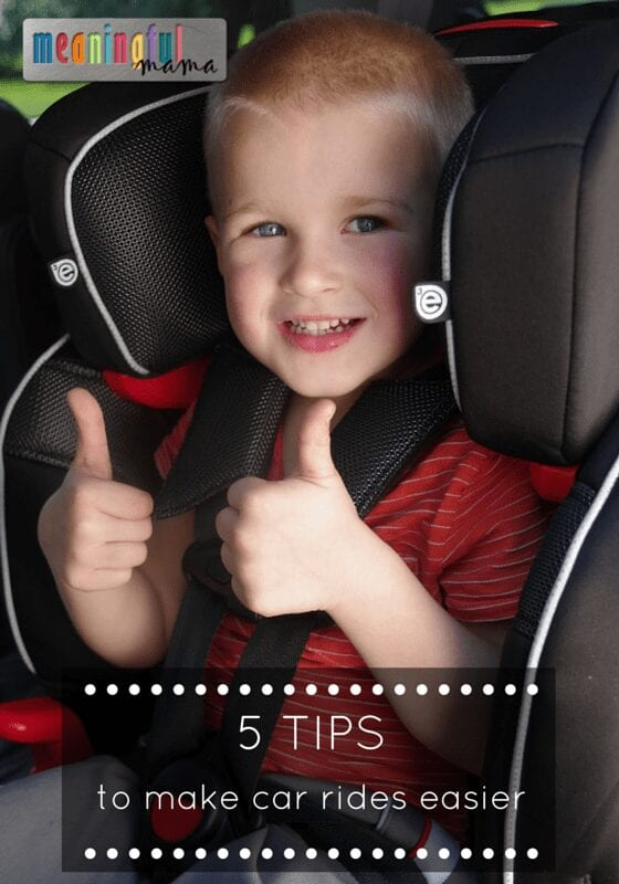 5 Tips for Making Car Rides Easier with Kids