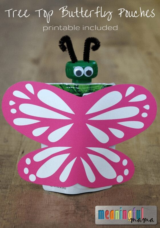 Butterfly Birthday Party Food Ideas - Tree Top Pouches