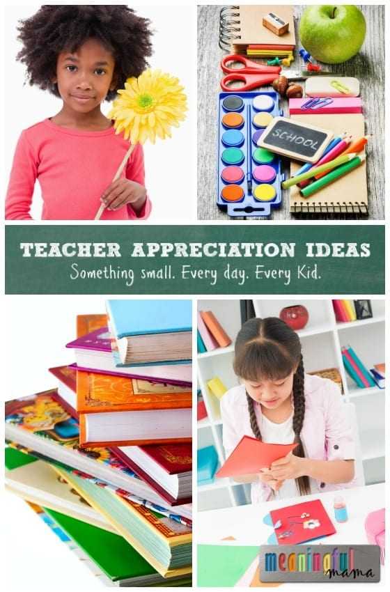 Daily Teacher Appreciation Gift Ideas
