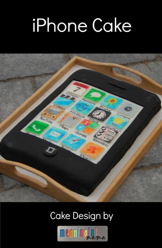 iPhone Cake Birthday Design