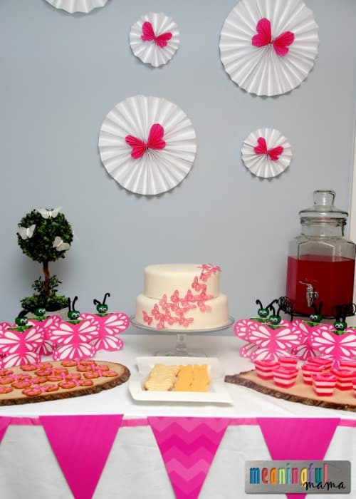 & Butterfly Birthday Party Ideas