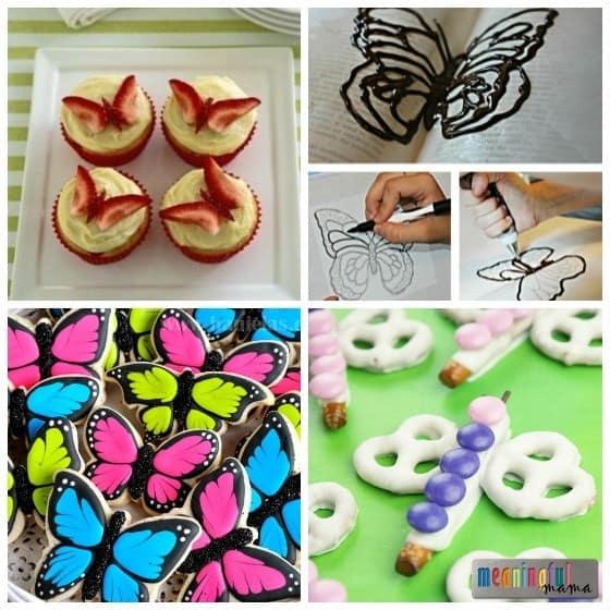 Butterfly Food Ideas - Dessert Party Shower