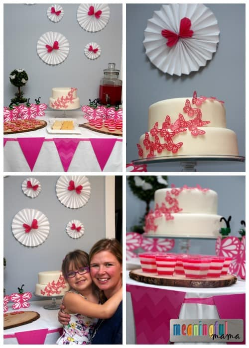 Butterfly Party Food Table Ideas