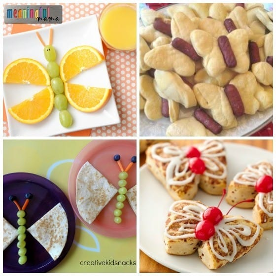 Butterfly Snack and Food Ideas for a Butterfly Party