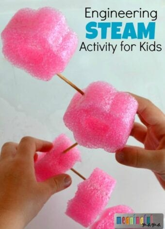 Engineering STEAM Activity for Kids
