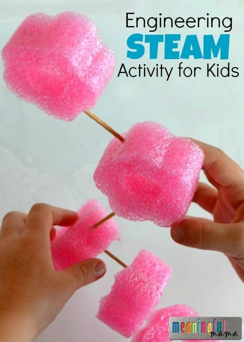 Engineering STEAM (STEM) Activity for Kids