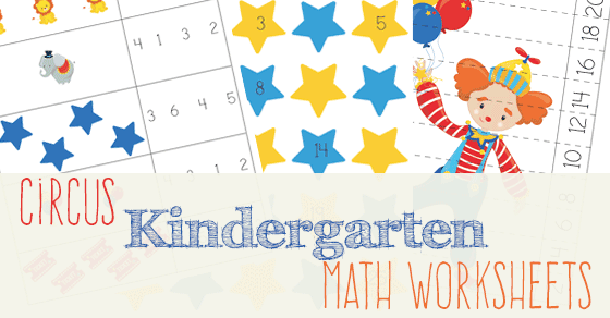 Circus Kindergarten Math Worksheets. Bring The Circus Theme Into Your Schoolwork With These Fun Math Worksheets. Kindergarten. Kindergarten Math Worksheets At Mspartners.co