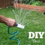 DIY Yard Sprinkler