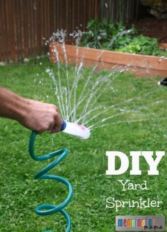 DIY Yard Sprinkler