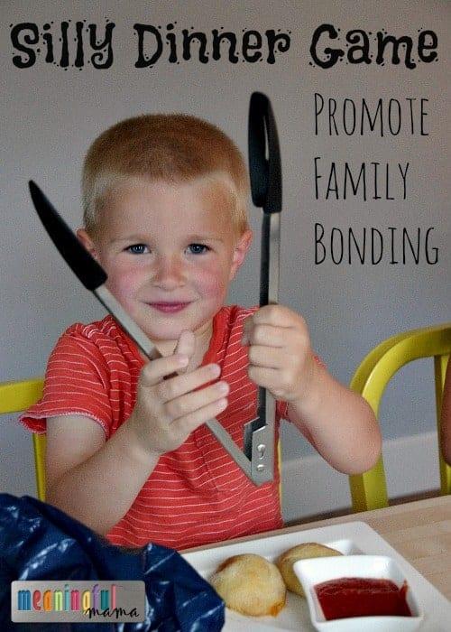 Funny Family Dinner Game to Promote Bonding