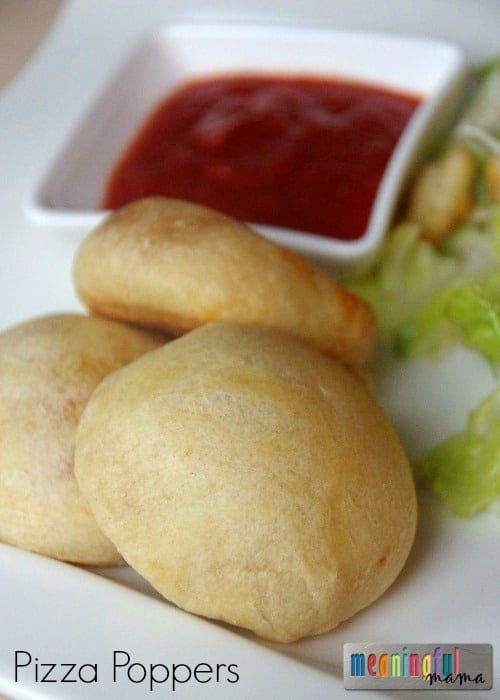 Pizza Popper Recipe with Ragú Dipping Sauce