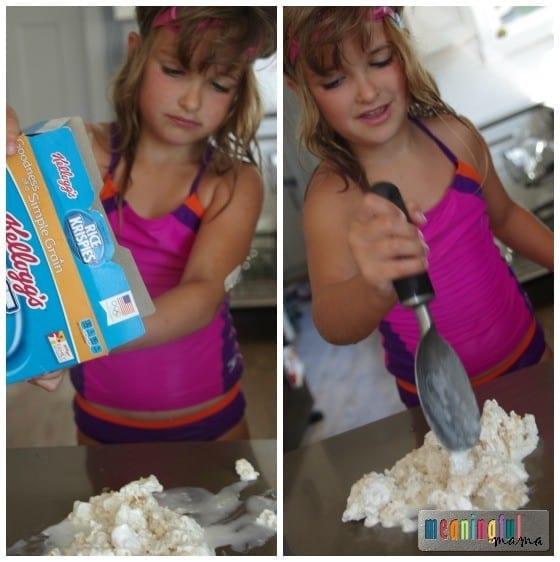 Rice Krispies Treats Marshmallow Ice Cream Recipe