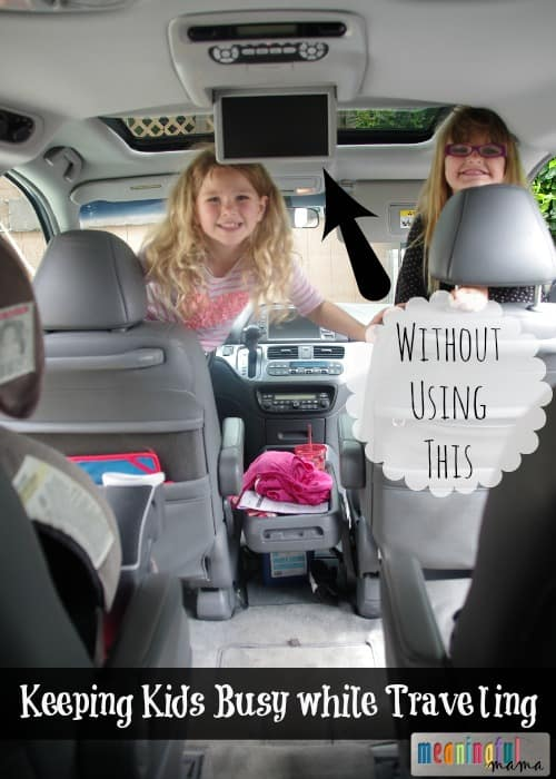 Road Trips with Kids - How to Keep Kids Busy while Traveling