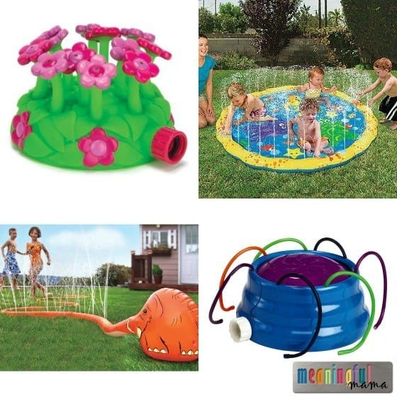 Sprinkler Ideas for Kids
