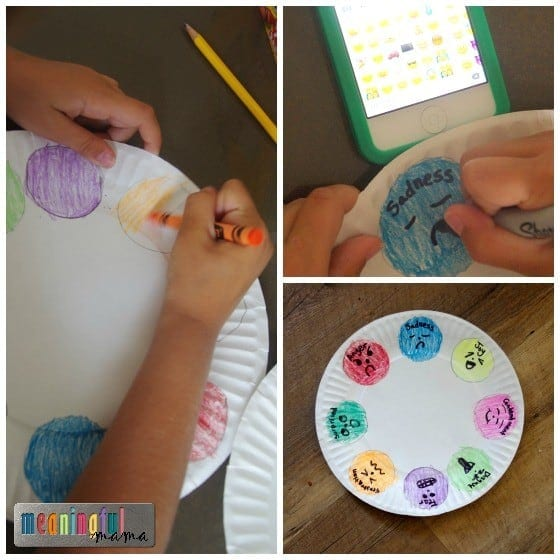 Feelings Plate - Teaching Kids to Identify Emotions