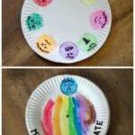 Paper Plate Feeling Spinner