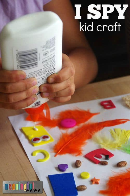 DIY I Spy Kid Craft