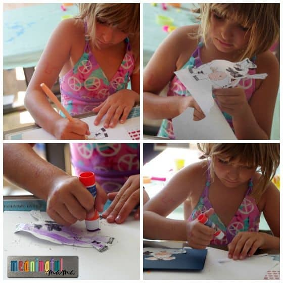 How to Draw a Cow and Card Making with Kids