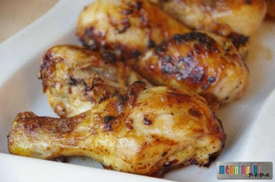 Baked Garlic Chicken Legs Aug 30, 2015, 4-048