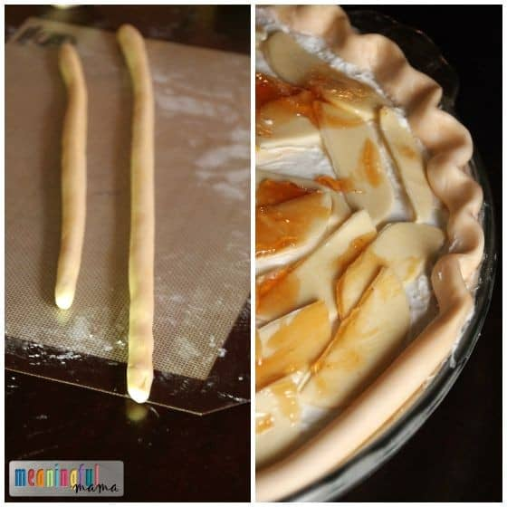 Cake that Looks Like Apple Pie