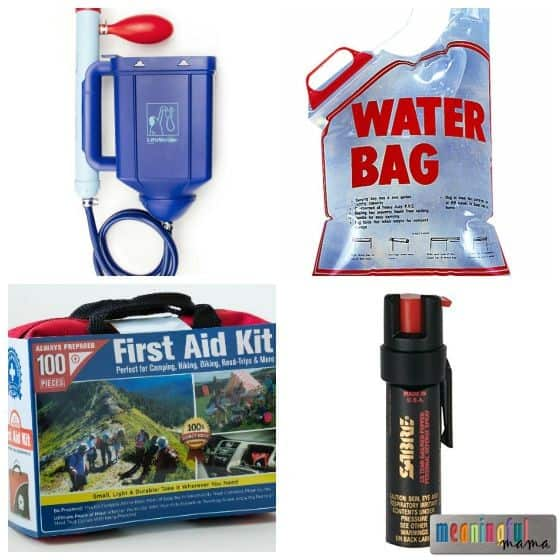 Emergency Earthquake Preparedness Kit