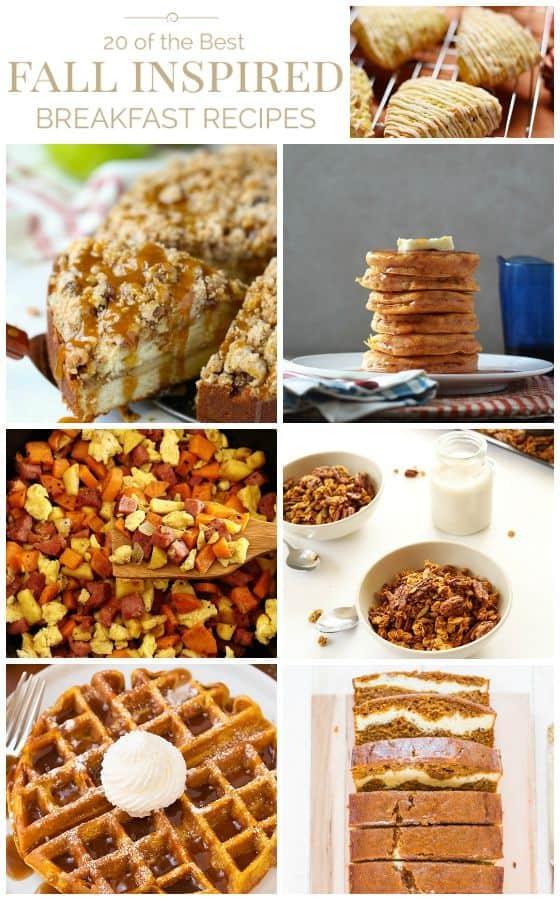 Fall Inspired Breakfast Recipes
