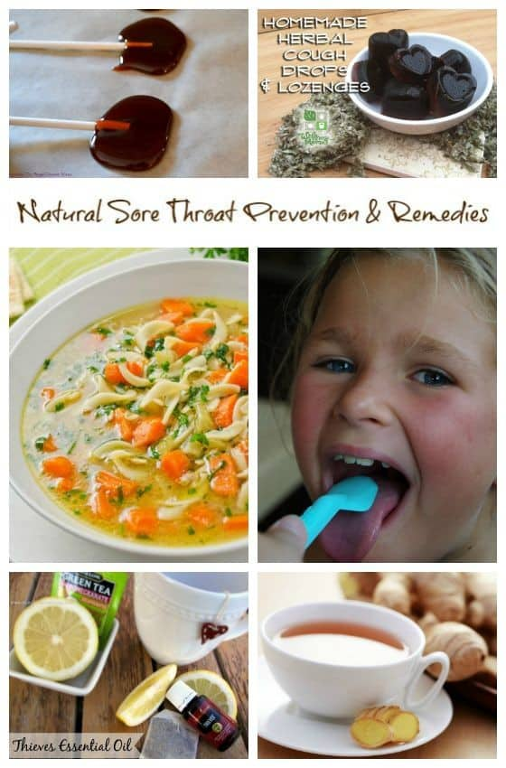 Natural Sore Throat Prevention and Remedies