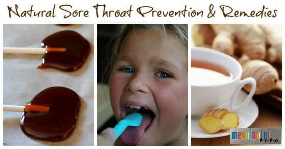 Natural Sore Throat Remedies and Prevention