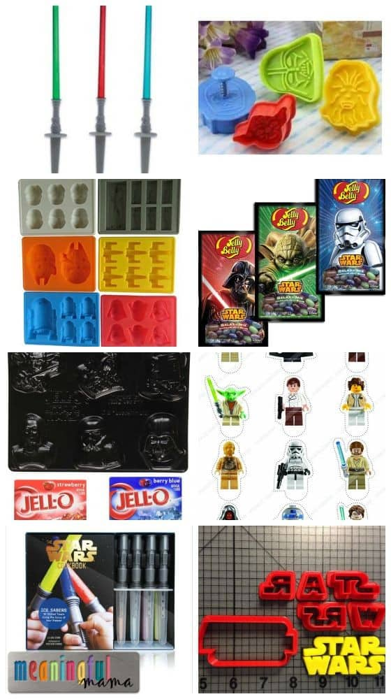 Star Wars Food Ideas - Molds, Cookie Cutters and More