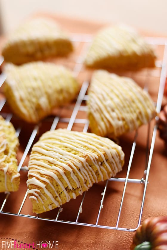 Tender-moist-Pumpkin-Scones-with-Brown-Butter-Glaze-are-simple-to-whip-up-and-are-perfect-for-fall